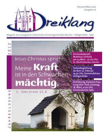 Gemeinde Heiligenfelde - Kirche in Syke