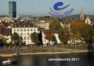Jahresbericht 2011 als PDF ansehen - Diakonische Stadtarbeit Elim