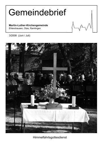 Zweigstelle: Hänigsen - Martin-Luther-Gemeinde Ehlershausen ...