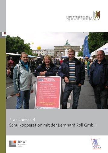 Praxisbeispiel Schulkooperation mit der Bernhard Roll GmbH