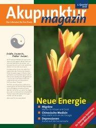 Akupunktur 2. Quartal 2007