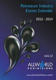 Petroleum Industry Events Calendar 2012 - Allworld Exhibitions