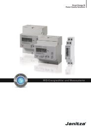 MID-Energiezähler und Messsysteme - Janitza Electronics GmbH