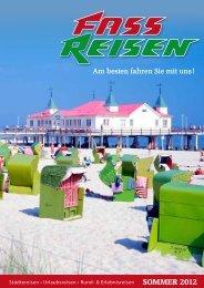 SOMMER 2012 - Fass Reisen