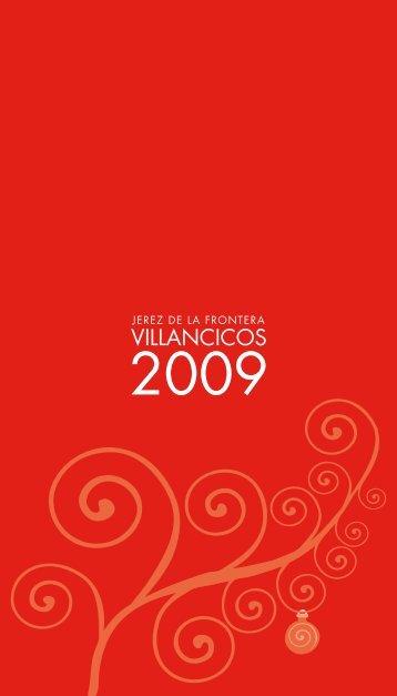 Villancicos 2009 VILLANCICOS - Ayuntamiento de Jerez