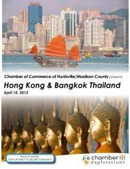 Hong Kong & Bangkok Thailand  - Huntsville/Madison County ...