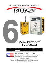 RQX-456 User Manual - Advanced Wireless Communications