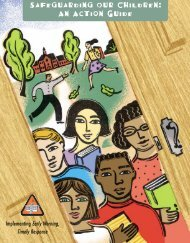 Safeguarding Our Children: An Action Guide - U.S. Department of ...