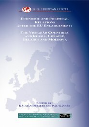Economic and Political Relations after the EU Enlargement