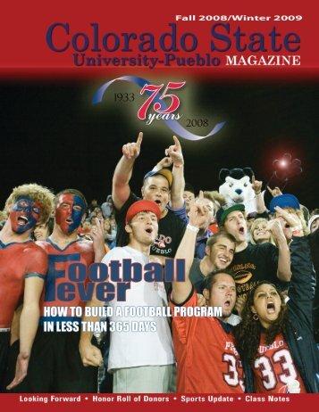 Fall 2009 - Colorado State University-Pueblo
