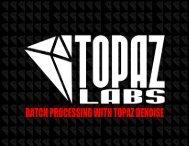 Batch Processing - Topaz Labs