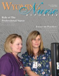 Role of The Professional Nurse Role of The Professional Nurse
