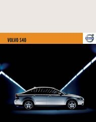 VOLVO S40 - Volvo Owners Club