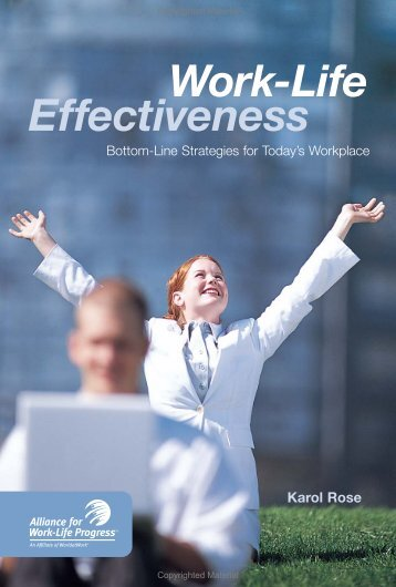 Work-Life Effectiveness - WorldatWork