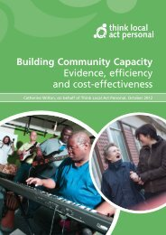 Building Community Capacity - Asset Based Consulting