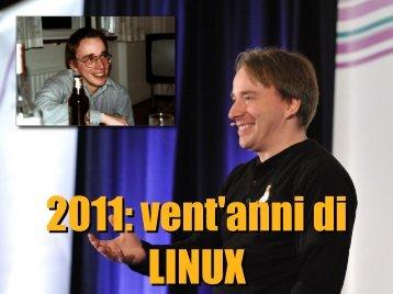 2011: vent'anni di Linux - Linux Day