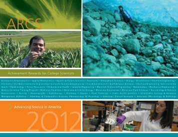 Download the 2012 Seattle Chapter Annual Brochure