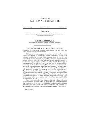 a pdf version of this sermon - PCA Historical Center