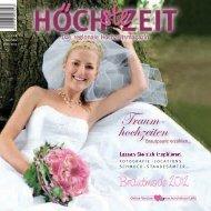 Traum- hochzeiten - Das Hochzeitsmagazin Höchste Zeit