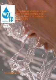 WSSTP Implementation Plan 2006 - Forskningsplatformen