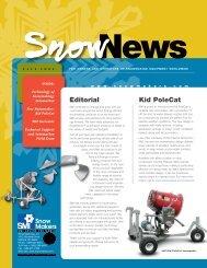 SnowNews 2006 - Snow Machines, Inc.
