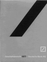 1977 - Historische Gesellschaft der Deutschen Bank e.V.
