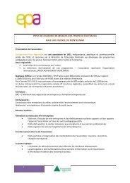 PROFIL DE POSTE chargé de mission V5 - Loire Solidaires