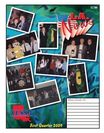 First Quarter 2009 - Louisiana Life Safety & Security Association