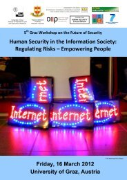 Human Security in the Information Society ... - HumanitarianNet