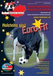 nach Fett+Eiweiß kg - Holstein Austria