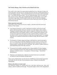 executive summary - Plan Canada