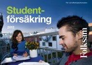 Student- försäkring - Folksam