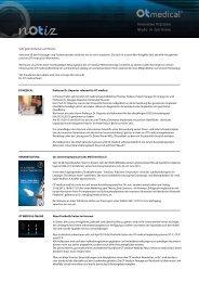 PDF - Version anzeigen - OT medical GmbH