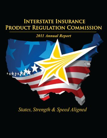 2011 Annual Report - Interstate Insurance Product Regulation ...