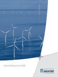 Geschäftsbericht 2009 - HOCHTIEF Solutions AG