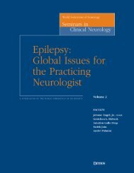 Epilepsy : global issues for the practicing neurologist