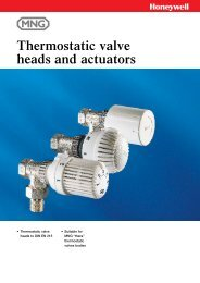 Thermostatic valve heads and actuators - Merx AS