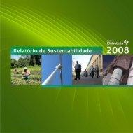 Relatório de Sustentabilidade - 2008 - Eletrosul