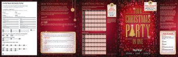 CHRISTMAS PRICING ADD YOUR OWN TOUCH - Net