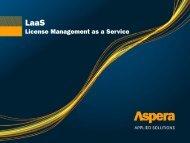 License Management as a Service (LMaaS) - iaitam
