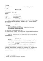 Zensurentscheidung - Deutsches Filminstitut - DIF