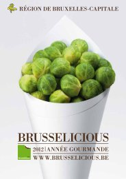 BRUSSELICIOUS - VisitBrussels