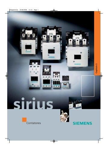Catálogo Contatores SIRIUS - Industry