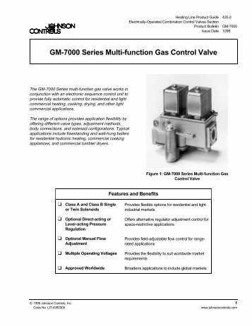 GM-7000 Series Multi-function Gas Control Valve ... - ShanControls