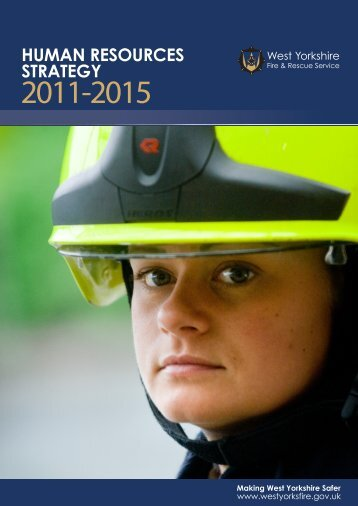 Human Resources Strategy 2011-2015 - West Yorkshire Fire Service