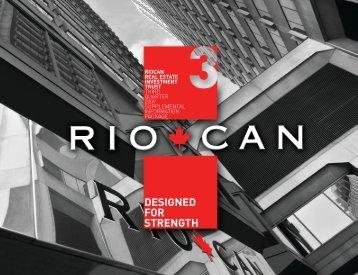 Q3 2009 Supplemental Information Package (PDF 1.26 MB) - RioCan