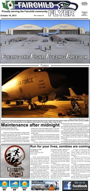 Fairchild Flyer Vol. 4, Issue 19 - Fairchild Air Force Base - U.S. Air ...