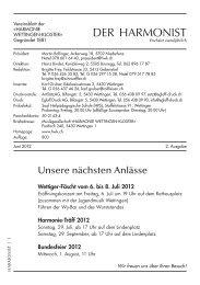 2 - 2012 - Harmonie Wettingen-Kloster