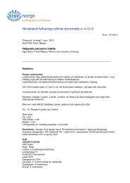 Referat styremøte 07.03.13 - CISV Norge