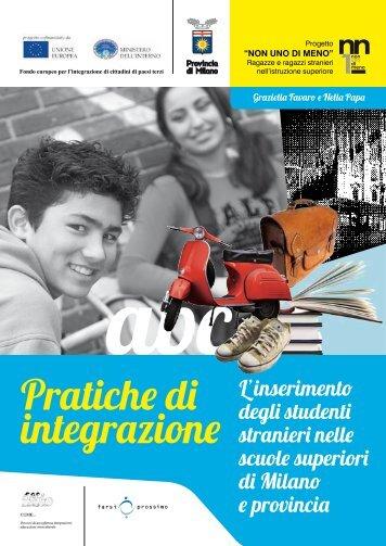 pratiche d'integrazione. l'inserimento degli studenti ... - Centro COME